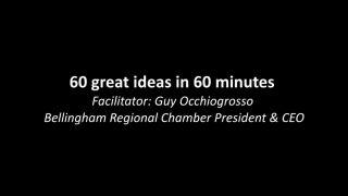 60 Ideas